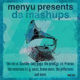 menyu presents: da mashups.