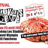 """La Douceur du Napalm 2011 (Spéciale """"Festival Mauvais Genre"""")"""