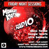 Midnight Riot Radio with guest Richie Roberts host Yam Who? 27 - 12 -19