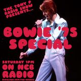 The Tony P Radio Show David Bowie '1975' Special