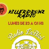 Killerdrumz Radio 14 - 11 - 16 en Radio LaBici