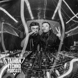 TAIWAN TECHNO PODCAST @ 75 - YAKASHI b2b Kang  (illusion space TN)  20160216