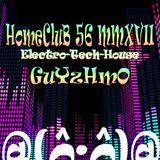 HomeCluB 56 Guyzhmo MMXVII
