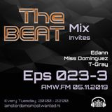 The BEAT Mix Eps 023 Edann & Miss Dominques &  T-Gray AMW-2019 11 05 Part 3