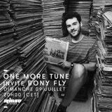 One More Tune #73 -Bony Fly Guest Mix - RINSE FR - (09.07.2017)