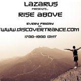 Lazarus - Rise Above 395 (06-09-2019)