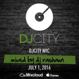 DJ Rashaun Friday Fix Mix at DJ City