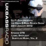 Ep. 078 - Label Spotlight on Subtitles Music, Vol. 2