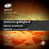 Rota 91 - 06/08/2016 - Convidados - Renan Marques, Amauri e Edground