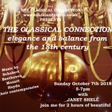 7th October 2018 THE CLASSICAL CONNECTION hosted by JANET SHELL