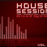 House Session vol.10  [mixed by V-tek]