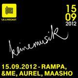 15.09.12 KeineMusik - Rampa, &Me, Alexander Aurel, Samuel Maasho II