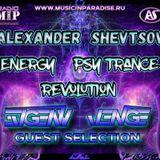 Alexander Shevtsov - Energy Psy-Trance Revolution # 015 @ Evgeny Venge Guest Selection (30.10.2017 )