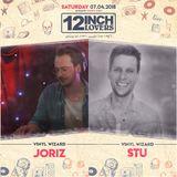 Stu & Joriz @ 12inch lovers Hangar58