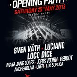 LOS SURUBA / Live broadcast from the Ushuaia opening party / 25.05.2013 / Ibiza Sonica