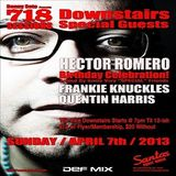 Quentin Harris @ 718 Sessions (Santos Party House) NYC - 07.04.2013