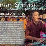 Badahari dasa prabhu kirtana at Iskcon Temple Denpasar Bali 22-11-2014