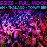 DJ Kingsize - Full Moon Party - Tommy Resort Stage - Ko Phangan - Thailand - 10 July 2017