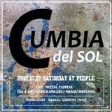 "Cumbia del Sol  @People 27th Oct 2012 pt.1 Mashi & Uchukankaku DJ Session + Mucha Familia ""Sueño"""
