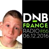 DnB France radio #066 - 6/12/2016 - Hosted by Mc Fly Dj