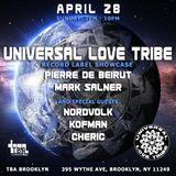 Pierre De Beirut (LIVE) Universal Love Tribe Label Showcase @ TBA Brooklyn 4.28.2019