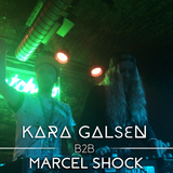 Kara Galsen B2B Marcel Shock - Live @ LEVEL UP Terminal // 28.1.2017