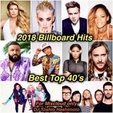 2018 NEW YEARS BIllboard CHART MIX