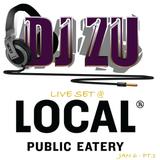 DJ ZU LIVE SET @ LOCAL_KITS JAN 6 pt.1