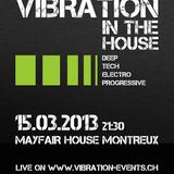 Vibration Live at Mayfair Montreux