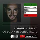 Simone Vitullo - Go Deeva Records Radio #017 (Massi ISX Mix) (Underground Sounds Of Italy)