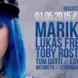 Tom Gotti @ DiscoStoff // CLUB27 [Tübingen/GER] 1.5.2015 (live Recording)