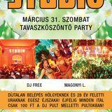 Nemere & Dj Free & Magonyi L - Live @ Studio-Ultimate Club Budapest Tavaszköszöntő Party 2012.03.31.