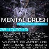Critter @ Mental Crush Bday RadioShow