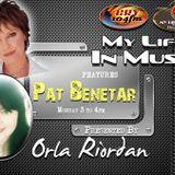 Orla Riordan explores the life ad music of Pat Benetar in My Life in Music
