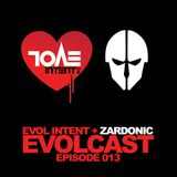 Evolcast 013 - hosted by Gigantor + Zardonic guest mix