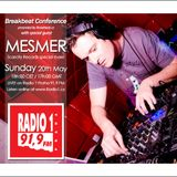 Mesmer - Special guest @ Breakbeat Conference radio show (Radio 1 Prague CZ) 20.05.2012