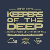 Keepers Of The Deep Ep 35, Deep C (Philly, Host), & OKAYFINE (Baltimore, D.C.) takes us Deeeeeeeeep.