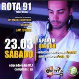 Rota 91 - 23/03/2013 - Educadora FM 91,7 by Rota 91 - Educadora FM