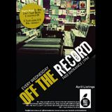 Off The Record - 11th April 2012 - Ed Sleigh