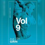 Vol.9 Girin - Live set at Priscilla Bar, 25.08.17
