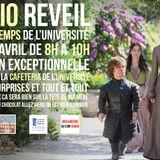 Radio Réveil à la cafétéria 09/04/2015 Radio Campus Avignon