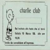 1986 - Discoteca CHARLIE [Cagliari](Dj Andrea Loche)