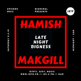 LATE NIGHT BIGNESS, Episode #13, with BIGREDAL + guest HAMISH MAKGILL on 1BTN, 09.03.19