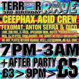 Fexomat @ Terror's 3rd Birthday [Bongo Club / Edinburgh] 2013