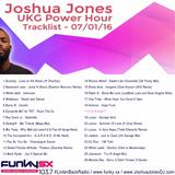 Joshua Jones UKG Power Hour Funky SX 103.7fm 07/01/16