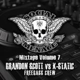 Brandon Scott vs. X-Static Social Menace Mixtape vol. 7