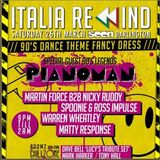 DJ Tony Hall, Italia Rewind, Easter Bank Holiday 2016, Promo Mix, Mixed By Tony Hall