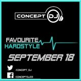 Concept - Favourite Hardstyle September 18 (06-09-2018)