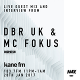 KFMP: No Mids For Kids dnb Show w/ DBR UK & MC FOKUS Live on Kane FM 28/01/17