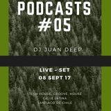 Podcasts # 05 JUAN DEPP – Tech House, Groove